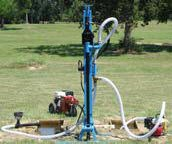 portable water well drill