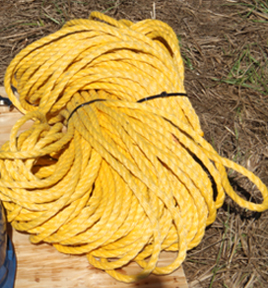 Lone Star Drills Hollow braid rope