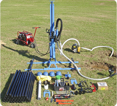 LS200H+ Drill Rig Package