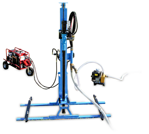 LS200H+ Portable Well Drill