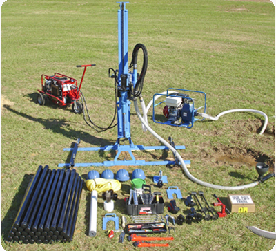 LS300H+ Water Well Drill Rig Package