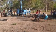 Water Well Drill Set-Up