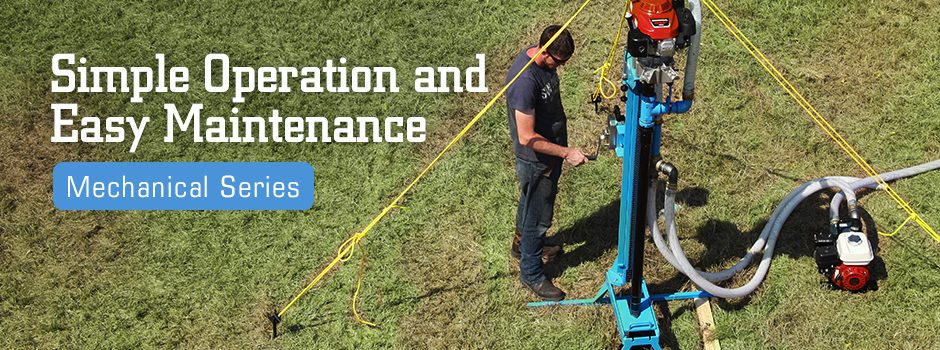 Portable Water Well and Geotechnical Drills | Lone Star Drills