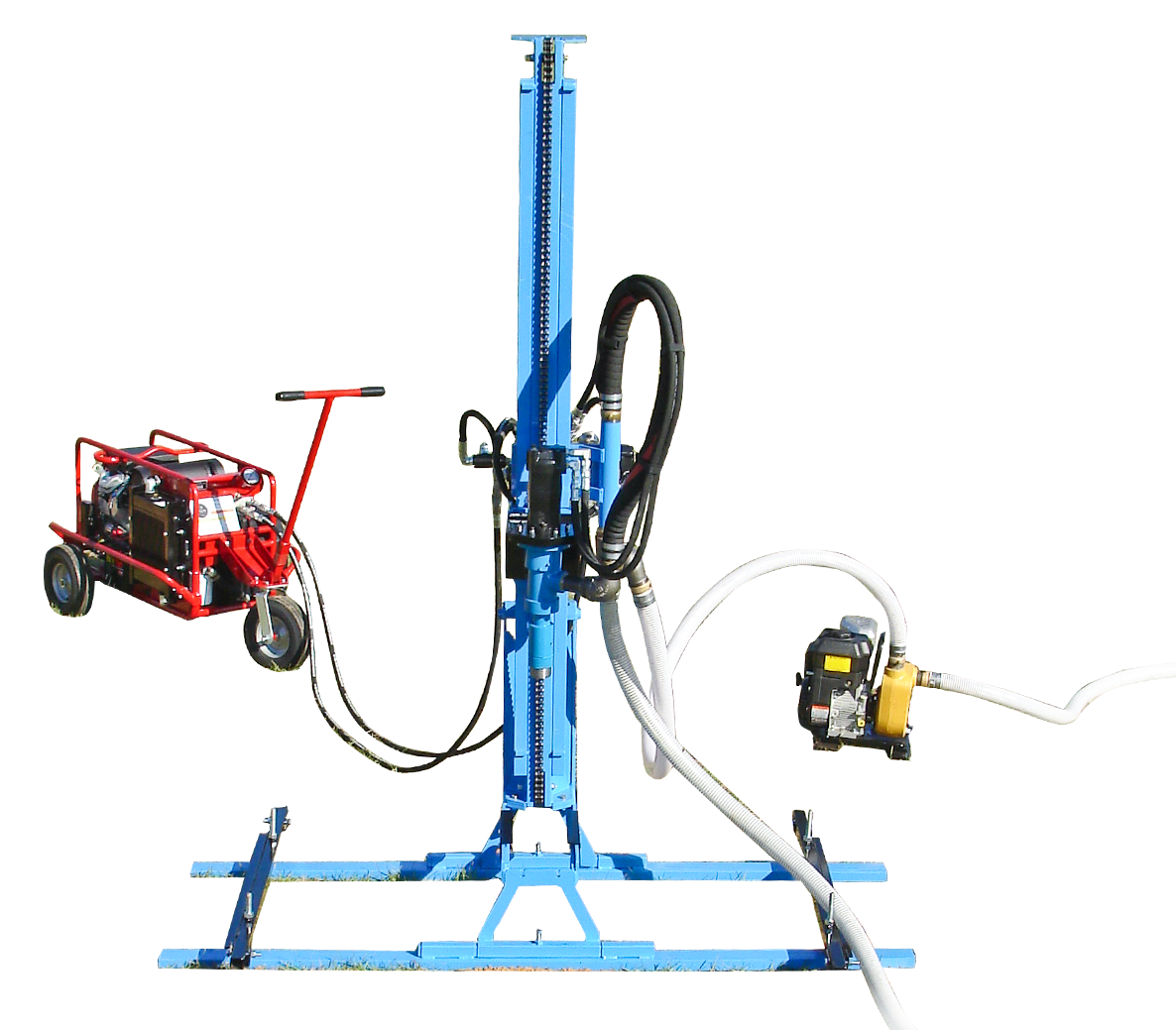 LS200H+ Portable Hydraulic Water Well Drill
