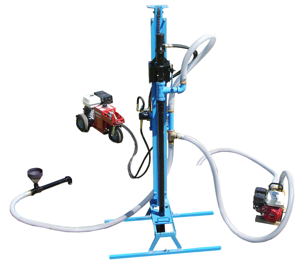 LS200H Portable Hydraulic Water Well Drill