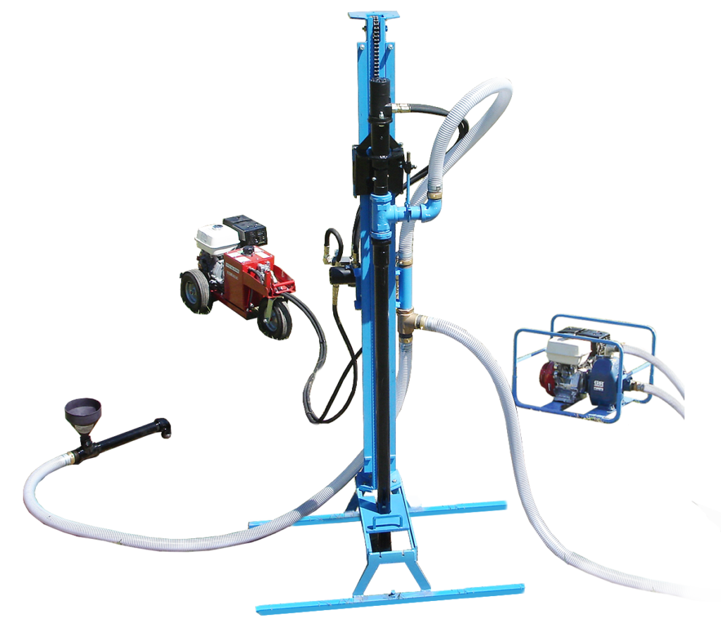 LS300H Portable Hydraulic Water Well Drill