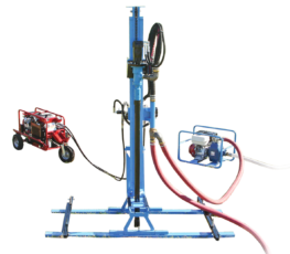 LS300H+ Portable Hydraulic Water Well Drill