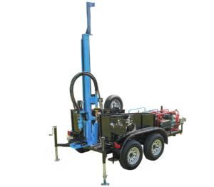 LS300T+ Trailer Mounted Water Well Drill