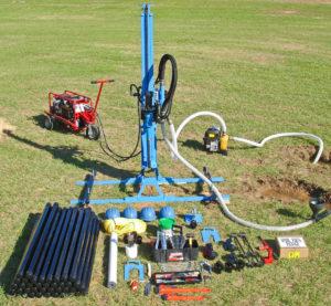 Hydraulic water well drill kit