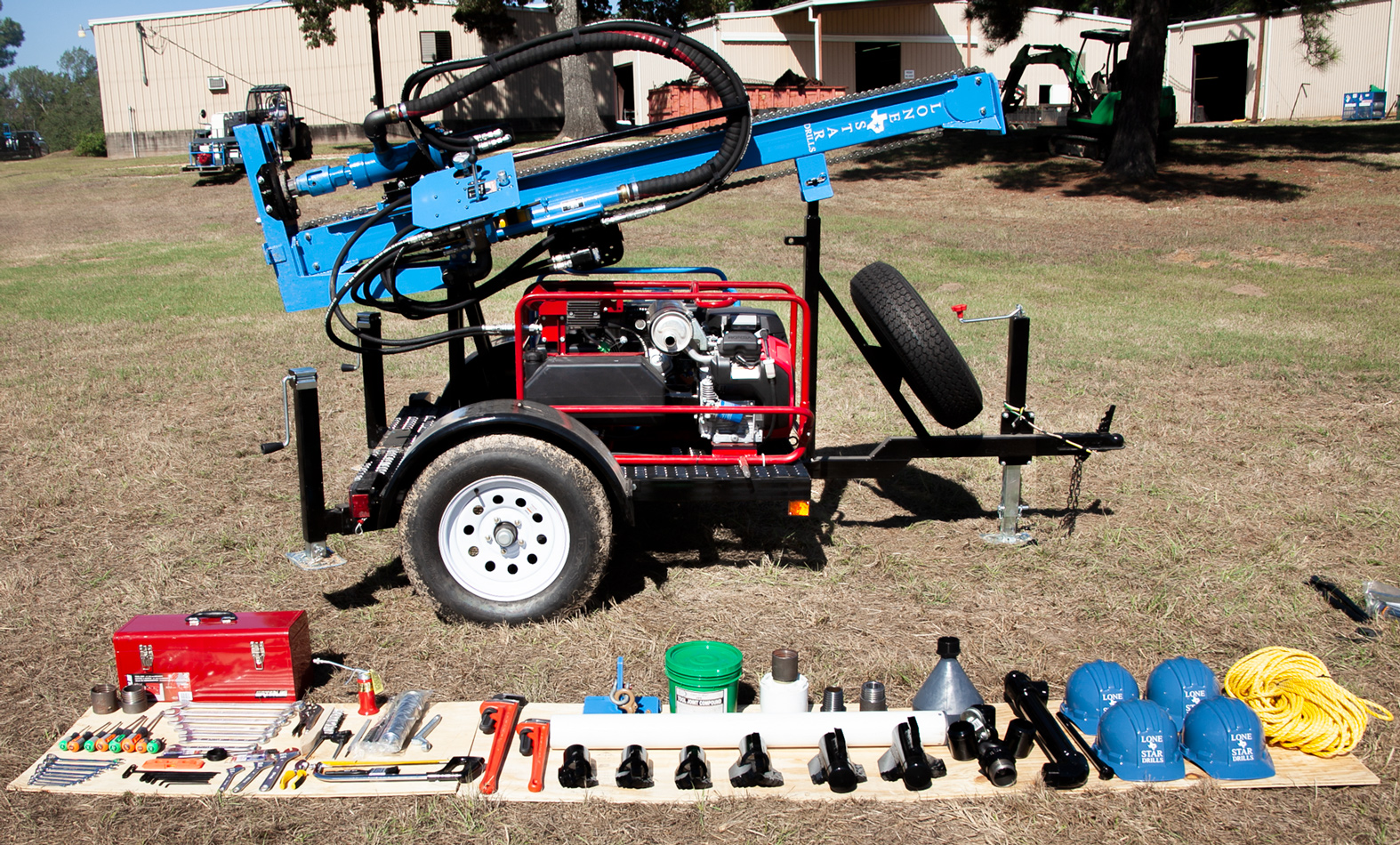 Trailer Mounted Water Well Drills Package