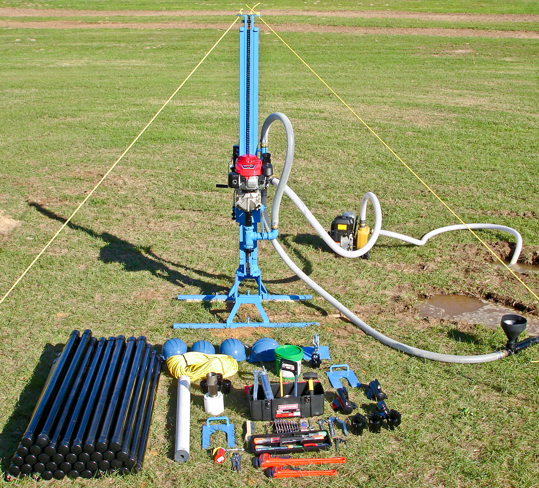 Mechanical water well drill kit