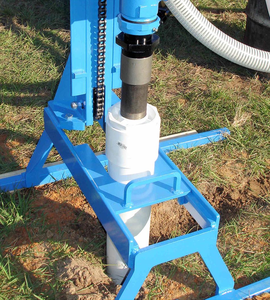 4-Inch Casing Flush Tool