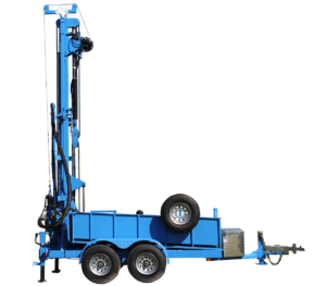LS400T+ Trailer Mounted Water Well Drill