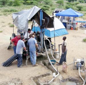 Lone Star Drills - Well drilling preparation